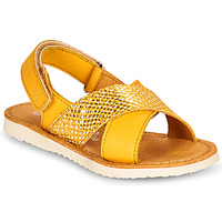 Shoes Girl Sandals Citrouille et Compagnie OVETTE Yellow