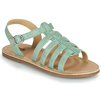 Shoes Girl Sandals Citrouille et Compagnie MAYANA Turquoise