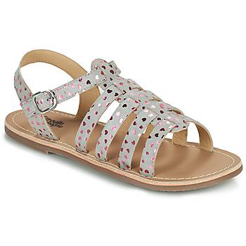 Shoes Girl Sandals Citrouille et Compagnie MAYANA Grey