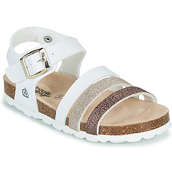 Shoes Girl Sandals Citrouille et Compagnie OMAYA White