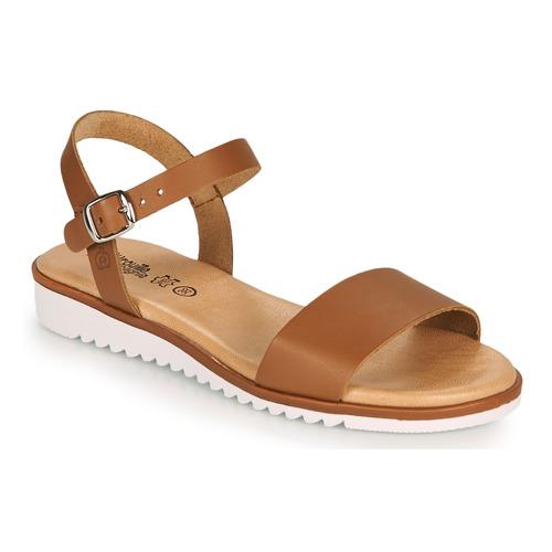 Shoes Girl Sandals Citrouille et Compagnie GLAPOTTI Camel