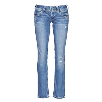 Clothing Women Straight jeans Pepe jeans VENUS Blue / Clear / Dg1