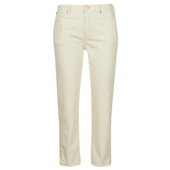 Clothing Women Slim jeans Pepe jeans DION 7/8 Ecru / Wi5