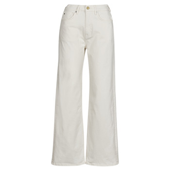 Clothing Women Straight jeans Pepe jeans LEXA SKY HIGH White / Wi5