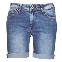Clothing Women Shorts / Bermudas Pepe jeans POPPY Blue / Medium / Hg2