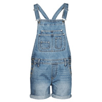 Clothing Women Jumpsuits / Dungarees Pepe jeans ABBY FABBY Blue / Medium