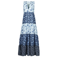 Clothing Women Long Dresses Pepe jeans MARIOLAS Multicolour