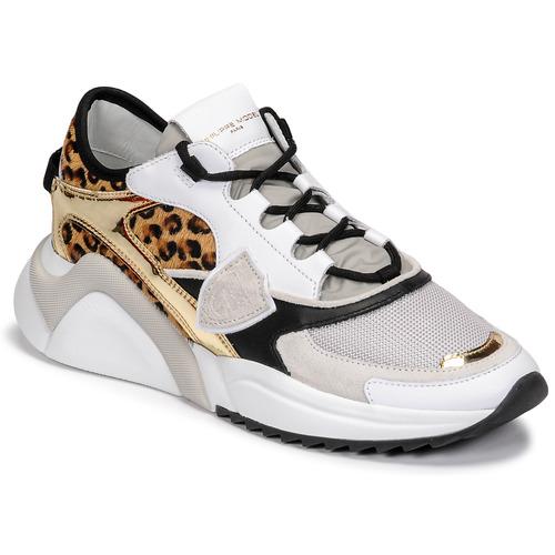 Shoes Women Low top trainers Philippe Model EZE Multicolour