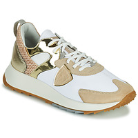 Shoes Women Low top trainers Philippe Model ROYALE White / Beige / Gold