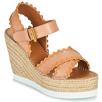 Shoes Women Sandals See by Chloé GLYN SB36113 Beige / Nude