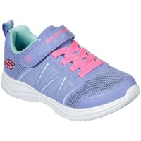 Shoes Girl Low top trainers Skechers Glimmer Kicks Shimmy Brights Girls Sports Trainers purple