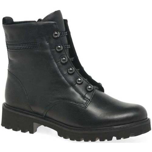 Shoes Women Mid boots Remonte Dorndorf Cable Womens Biker Boots black