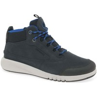 Shoes Boy Mid boots Geox Junior Aeranter Boys Boots blue