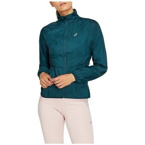 Clothing Women Jackets Asics The New Strong Jacket Green