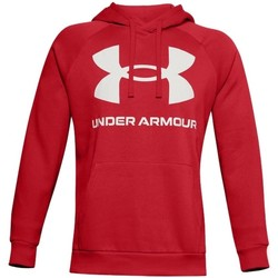 Clothing Men Sweaters Under Armour Rival Fleece Big Logo HD Red
