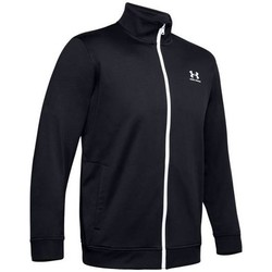 Clothing Men Sweaters Under Armour Sportstyle Tricot Jacket Black
