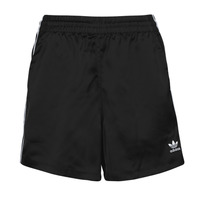 Clothing Women Shorts / Bermudas adidas Originals SATIN SHORTS Black