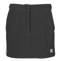 Clothing Women Skirts adidas Originals FLEECE SKIRT Black