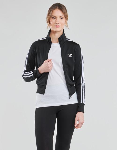 Clothing Women Track tops adidas Originals FIREBIRD TT PB Black
