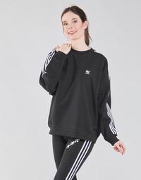 Clothing Women Sweaters adidas Originals OS SWEATSHIRT Black