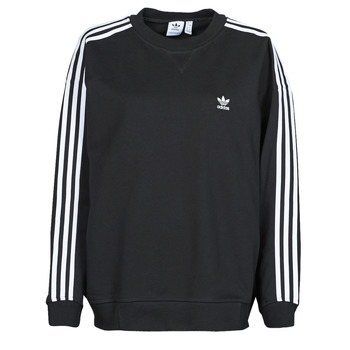 Clothing Women Sweaters adidas Originals OS SWEATSHIRT Black