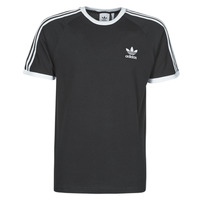 Clothing Men Short-sleeved t-shirts adidas Originals 3-STRIPES TEE Black