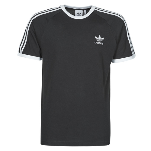 Clothing Men Short-sleeved t-shirts adidas Originals 3-STRIPES TEE Black