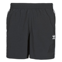 Clothing Men Trunks / Swim shorts adidas Originals 3-STRIPE SWIMS Black