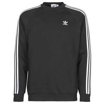Clothing Men Sweaters adidas Originals 3-STRIPES CREW Black