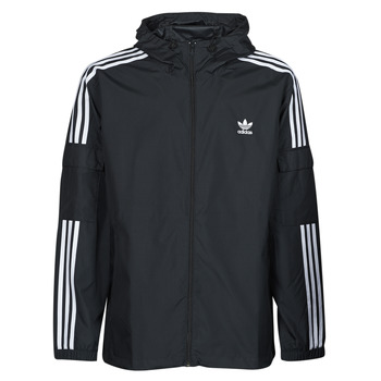 Clothing Men Macs adidas Originals 3-STRIPES WB FZ Black