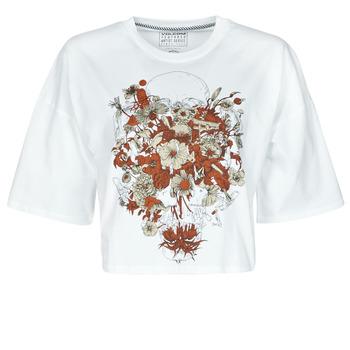 Clothing Women Short-sleeved t-shirts Volcom FA FORTIFEM TEE White