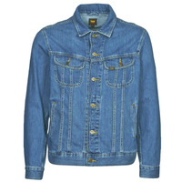 Clothing Men Denim jackets Lee LEE RIDER JACKET Blue