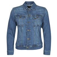 Clothing Men Denim jackets Lee SLIM RIDER JACKET Blue