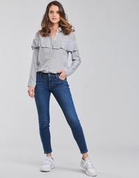 Clothing Women Skinny jeans Lee SCARLETT Blue