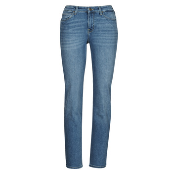 Clothing Women Straight jeans Lee MARION STRAIGHT Blue