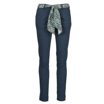 Clothing Women Chinos Le Temps des Cerises LIDY Blue