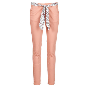 Clothing Women Chinos Le Temps des Cerises LIDY Pink