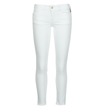 Clothing Women Chinos Le Temps des Cerises PULP HILL White