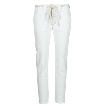 Clothing Women 5-pocket trousers Le Temps des Cerises EZRA White
