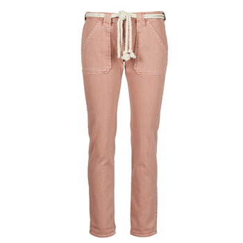 Clothing Women 5-pocket trousers Le Temps des Cerises EZRA Brown