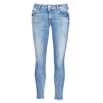 Clothing Women Slim jeans Le Temps des Cerises PULP SLIM 7/8 Blue
