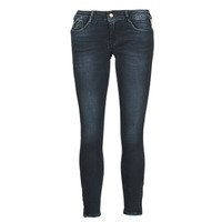 Clothing Women Slim jeans Le Temps des Cerises PULP SLIM 7/8 Black / Blue