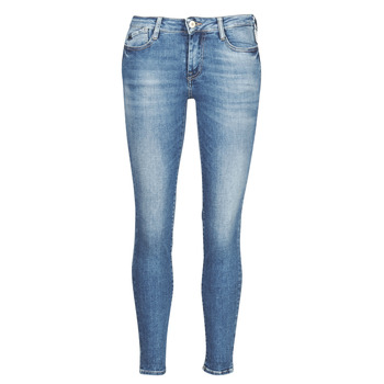 Clothing Women Skinny jeans Le Temps des Cerises POWER 7/8 Blue