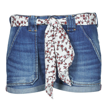 Clothing Women Shorts / Bermudas Le Temps des Cerises BLOOM Blue