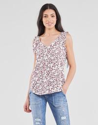 Clothing Women Tops / Blouses Le Temps des Cerises ALEKSA White