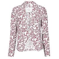 Clothing Women Jackets / Blazers Le Temps des Cerises GOYA White
