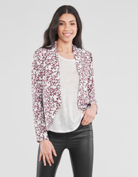 Clothing Women Jackets / Blazers Le Temps des Cerises GOYA White