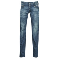 Clothing Men Slim jeans Le Temps des Cerises 711 Blue