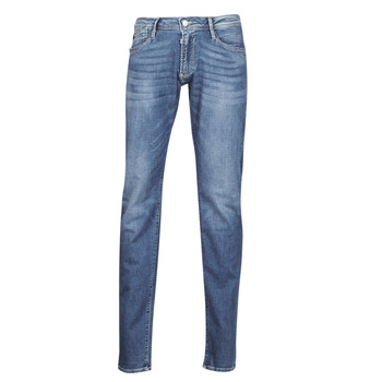Clothing Men Slim jeans Le Temps des Cerises 711 JOGG Blue