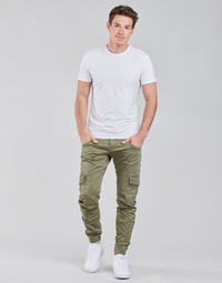 Clothing Men Cargo trousers Le Temps des Cerises PHALBAN Kaki